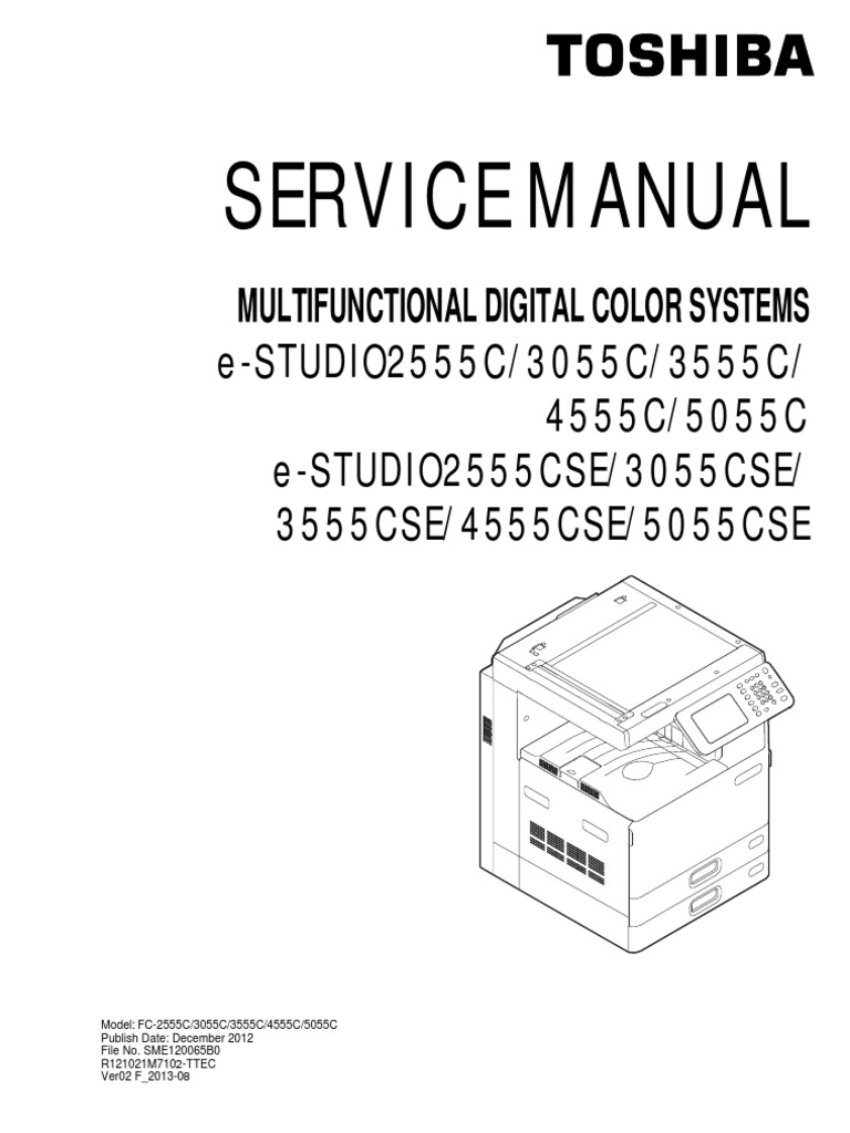 Toshiba 5055C Service Manual