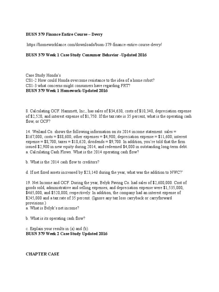BUSN 258 Week 6 Case Study; LL Bean & AT&T…………..(BUSN 258 Customer Relations – DeVry)
