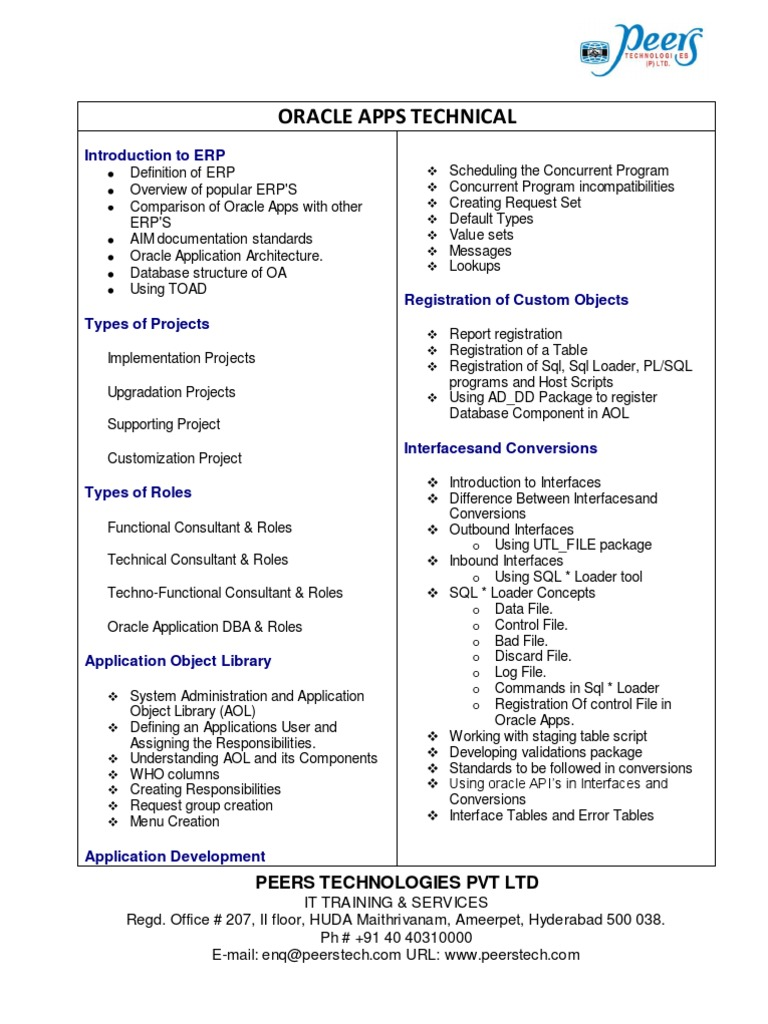 100 oracle applications consultant resume