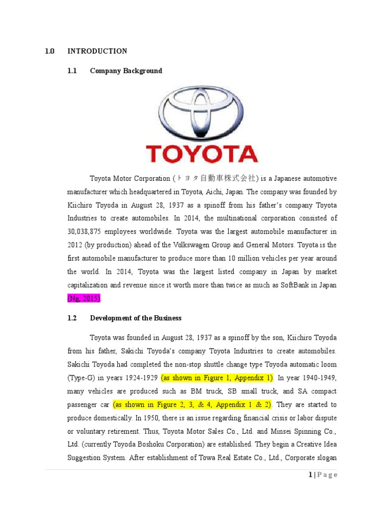 toyota swot analysis internal Need essay sample on the north face swot analysis we will write a custom essay sample specifically for you for only $ 1390/page toyota swot analysis: internal.