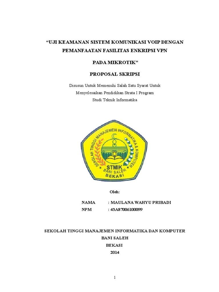 Proposal Skripsi Contoh Docsharetips