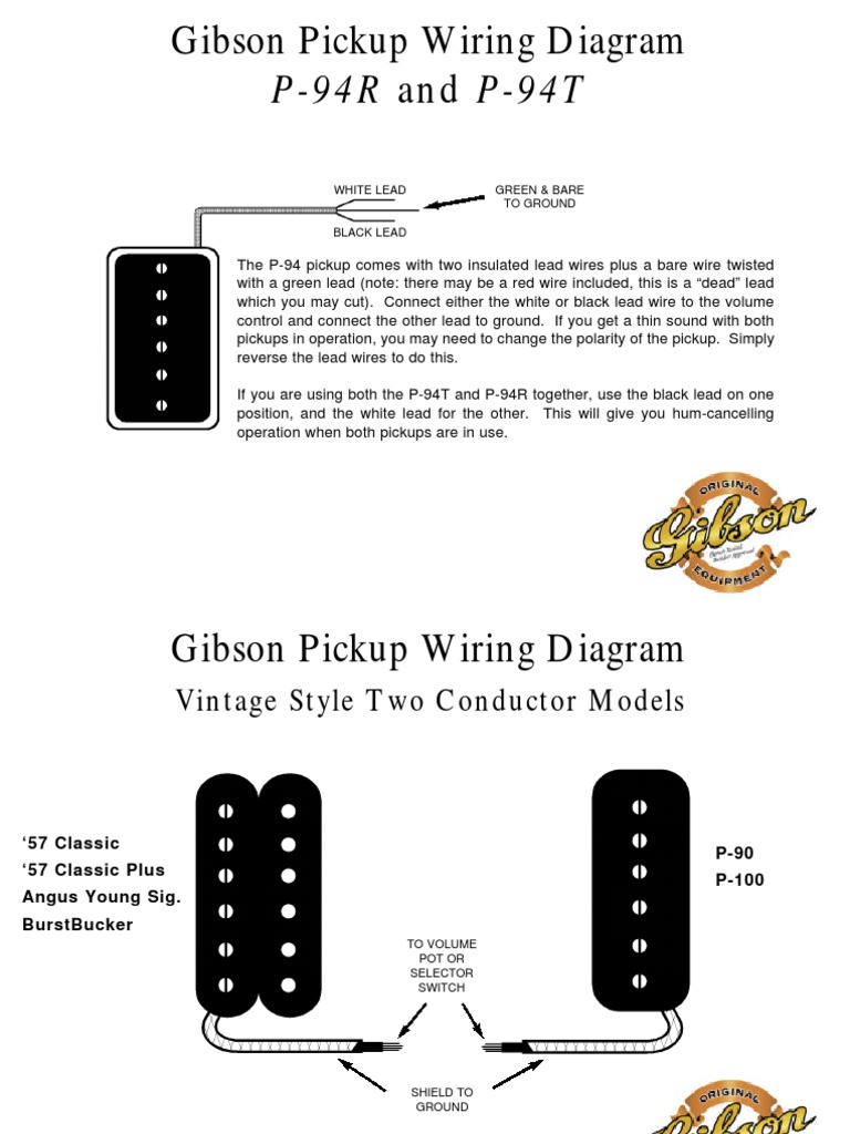gibson pickup color codes docshare tips rh docshare tips gibson pickup wiring diagram 57 classic gibson 3 pickup wiring diagram