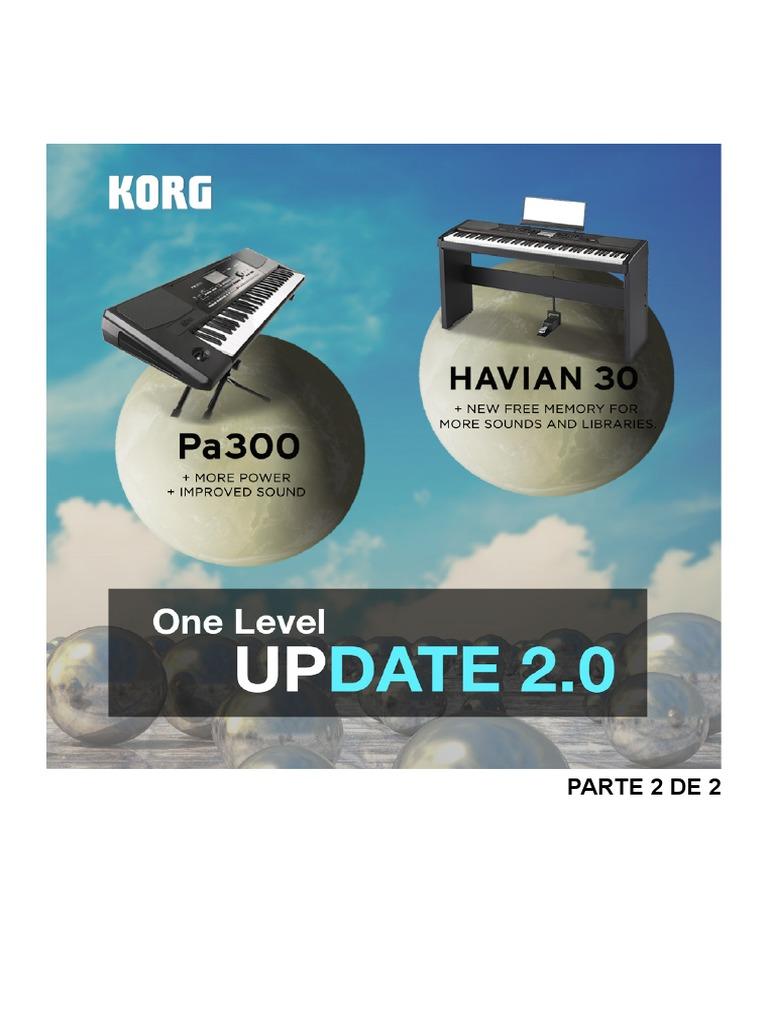 Download KORG Pa300 & Havian 30: Update 2.0 - Part 1. [ENGLISH ...