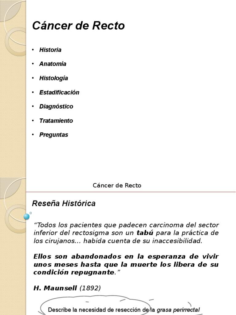 Tumores de Recto - Hospital de Clínicas - Residencia de Cirugía ...