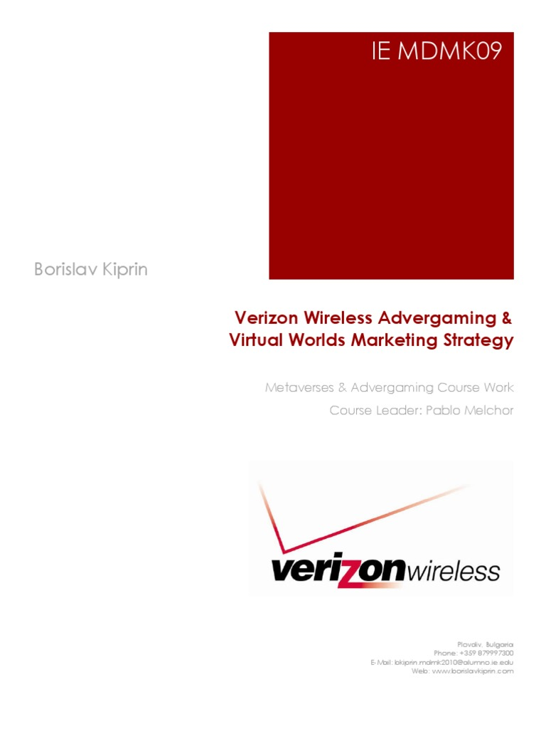verizon wireless marketing strategy How verizon uses social for marketing research mason nelder, director of consumer insights at verizon, joins the social pros podcast this week to discuss the incredible advantages, the challenges, and the long-term company-wide transformations made possible through the customer insights gained from social media.