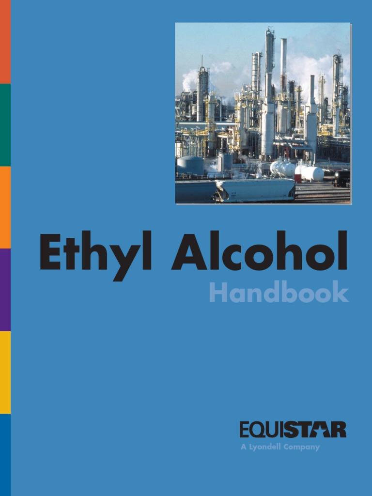 Ethyl Alcohol Handbook Equistar - DocShare tips