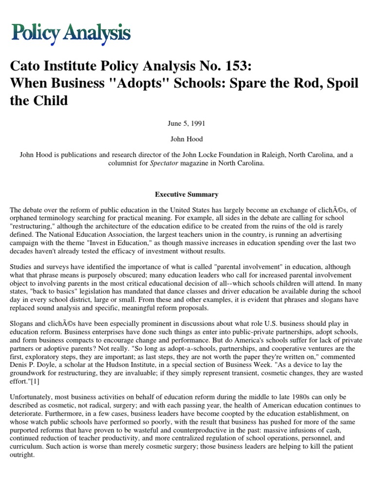 spoiled children essay example Spoiled children spoiling is not healthy for a child's growth - there have to be limits sometimes, you have to say no have you ever said no to your children from.