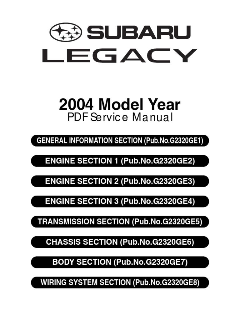 Subaru Legacy Outback 2003 2009 2000 Pcv Valve Location