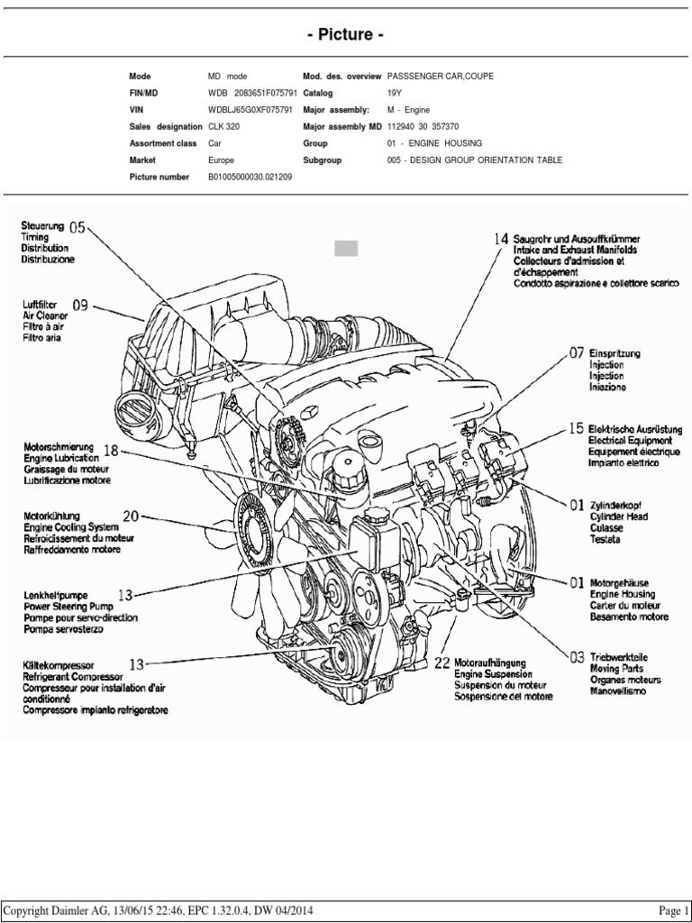 Download Calibration Of Engine Performance At Mercedes Housing Diagram Benz M112 Epc