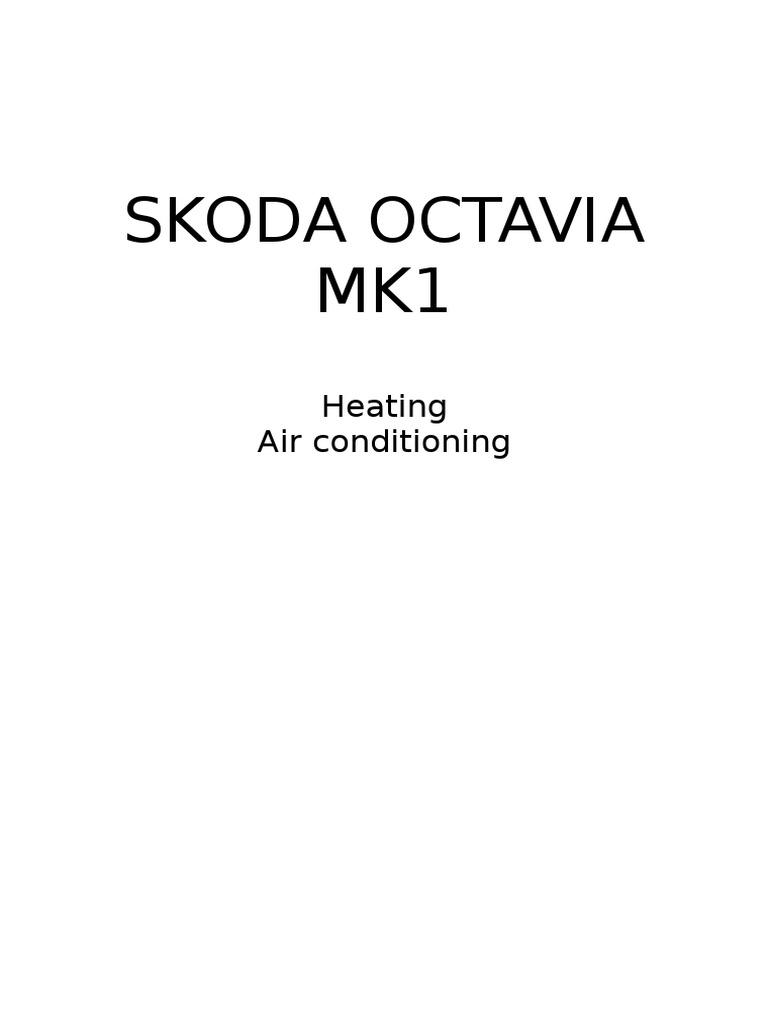 skoda octavia mk1 - 04 - heating air conditioning