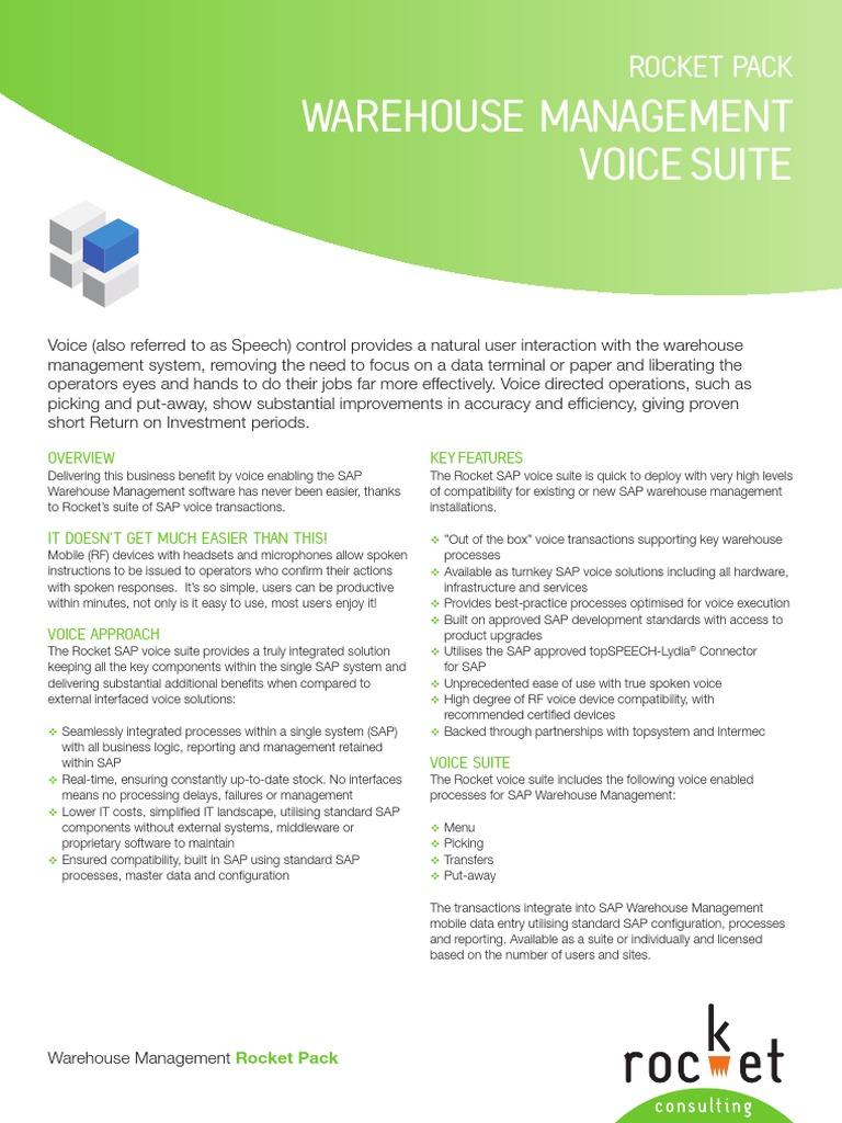 topsystem pick by voice
