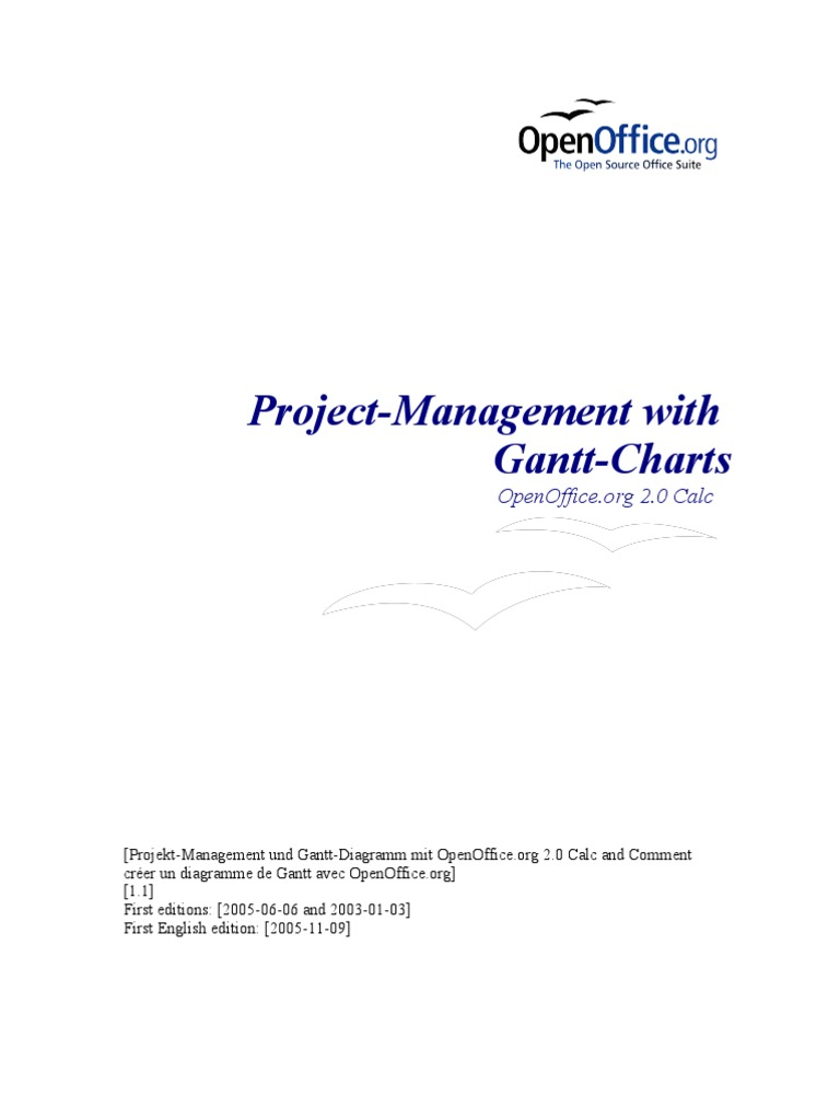 Download using gantt charts in your research degree management openoffice project management with gantt charts ccuart Gallery
