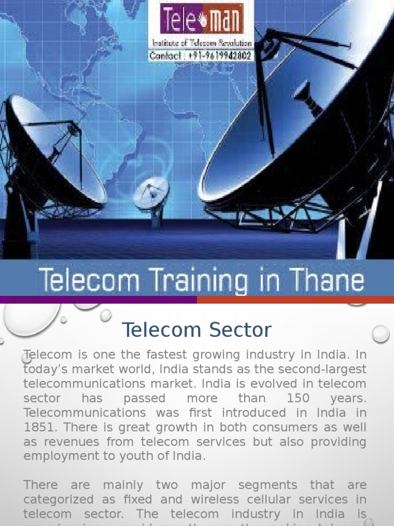 telecom industry in india How can the answer be improved.