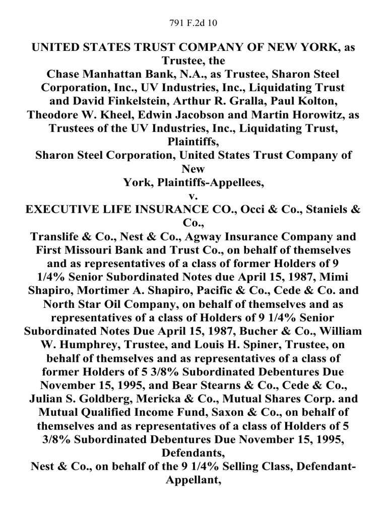 district attorney paul gallegos loses docshare tips as trustee the chase manhattan bank n a as trustee sharon steel corporation inc uv industries inc liquidating trust and david finkelstein
