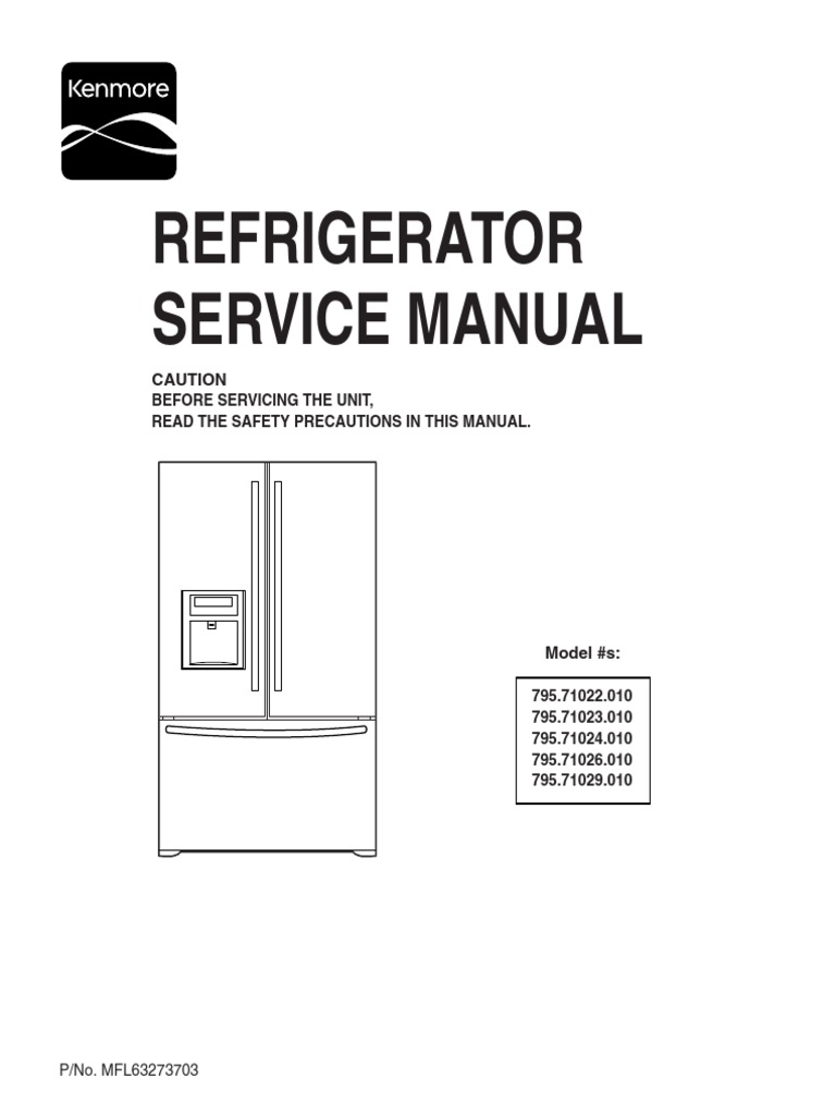 Download Samsung Rsh1dtmh Refrigerator Service Manual Pdf
