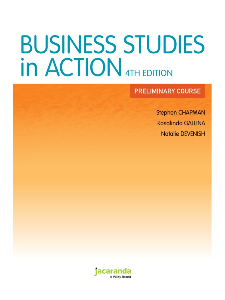 Business studies in action 4th edition docshare fandeluxe Image collections