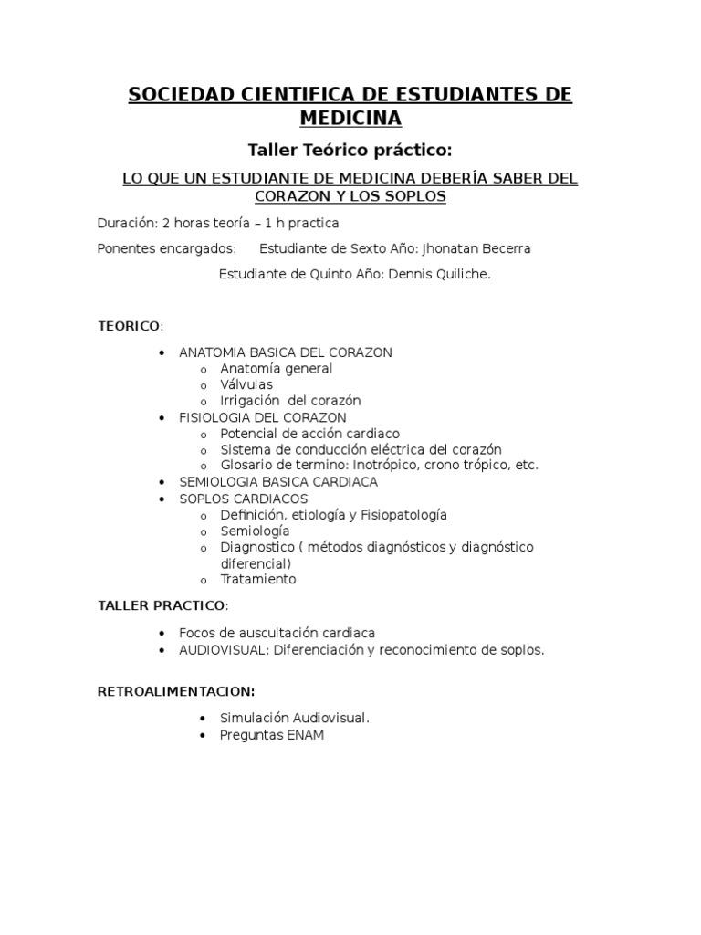 Sociedad Cientifica de Estudiantes de Medicina - DocShare.tips