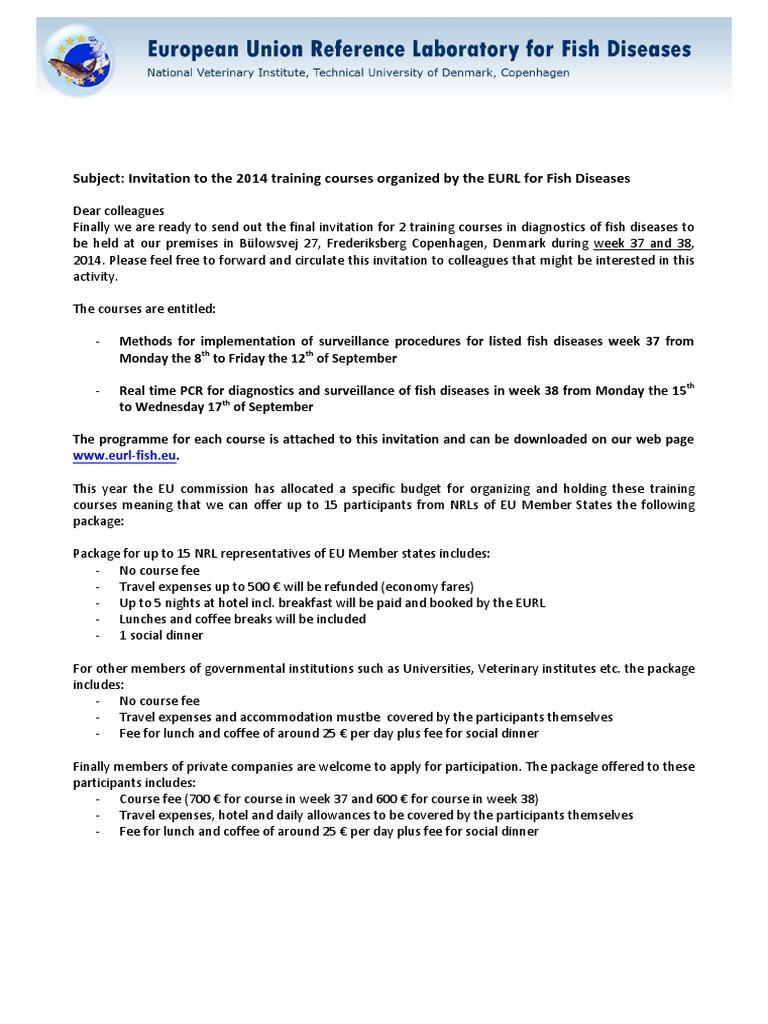 Invitation EURL Training Courses - DocShare tips