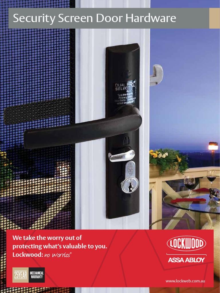 Lockwood Security Screen Door Hardware Catalogue - DocShare.tips