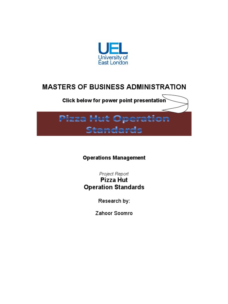 operation management flexibility of pizza An overview of flexibility literature from the operations management perspective bertrand, jwm published: 01/01/2002 document version publisher's pdf, also known as version of record (includes final page, issue and volume numbers.