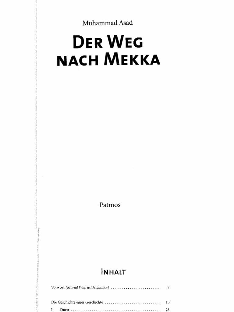 Der Weg nach Mekka. Muhammad Asad - DocShare.tips