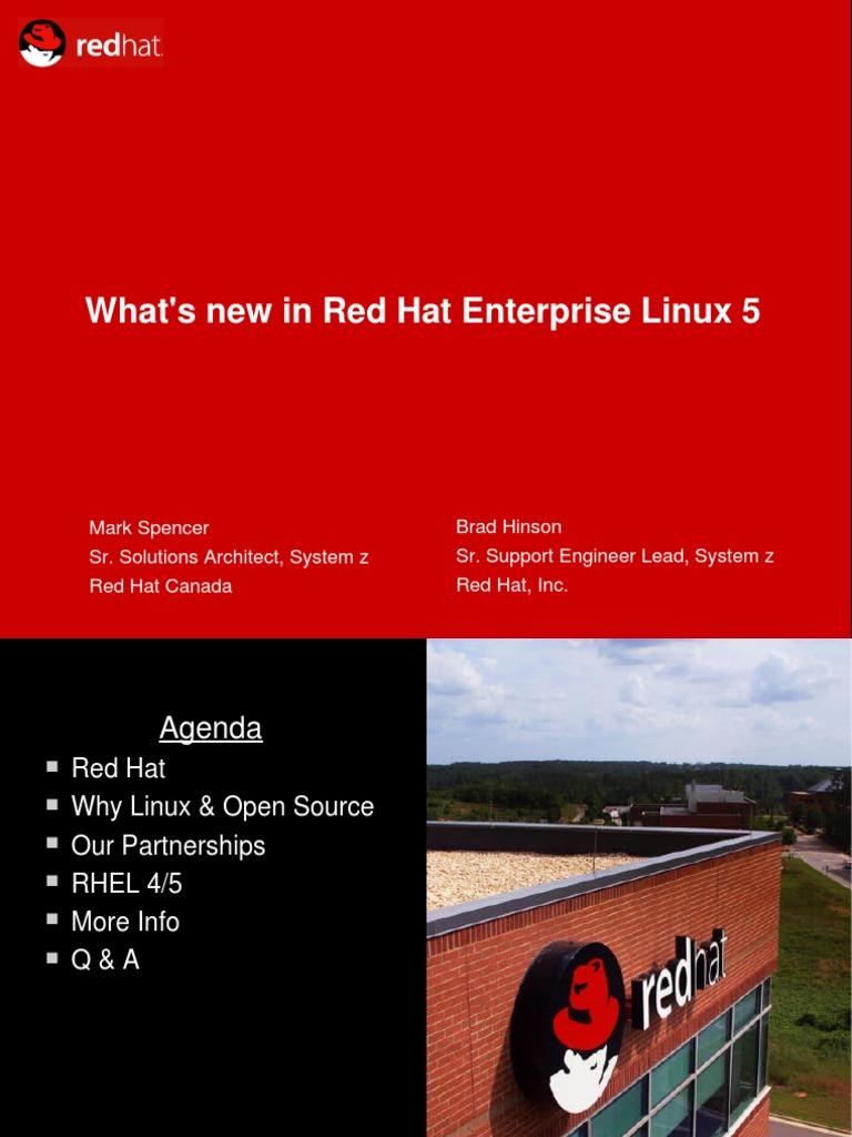 microsoft vs red hat linux essay