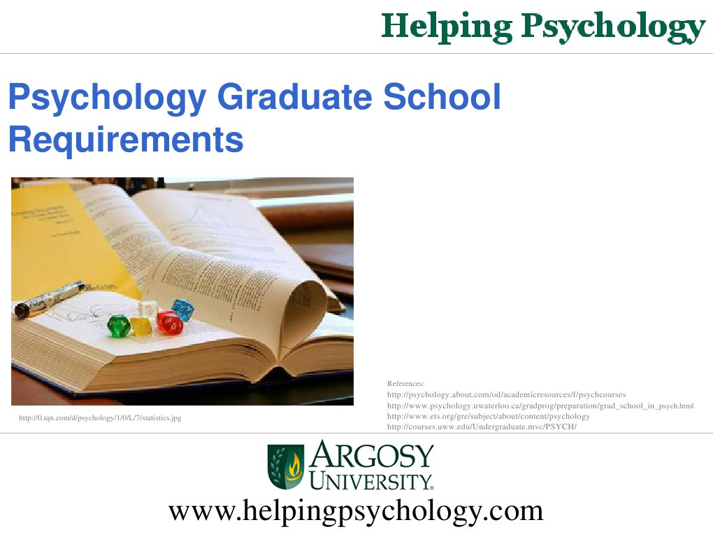 psychology grad school application essay Writing an essay for your grad school application organize it well to get your point across - and get yourself into graduate school.