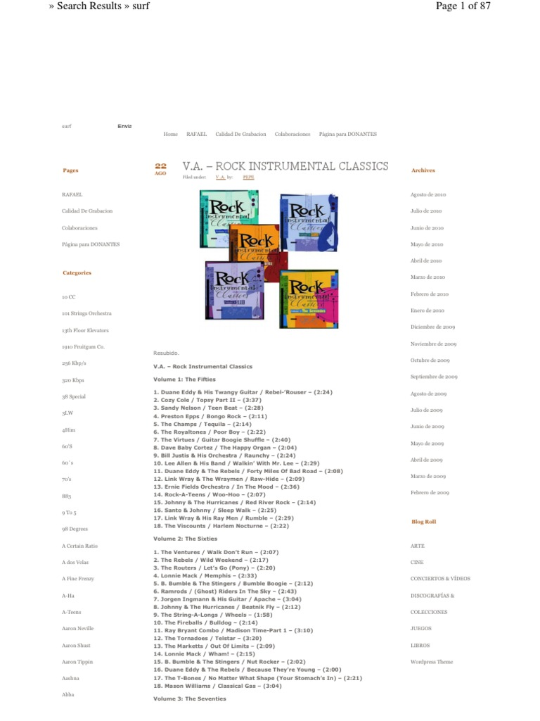 Rock N Roll – 131 Original Hits (6CD) - DocShare tips