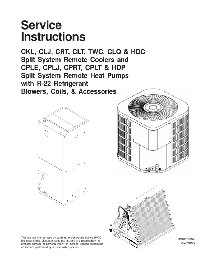 Goodman A24 10 Wiring Diagram Electrical Schematics Hkr Service Instructions Rs6200004 181 Pages Docshare Tips Flame Sensor