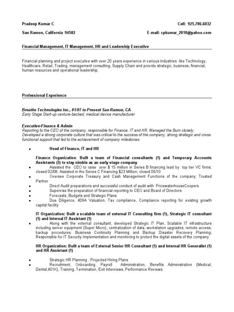 Perfect Resume Consultant Bay Area Sketch - Example Resume Ideas ...