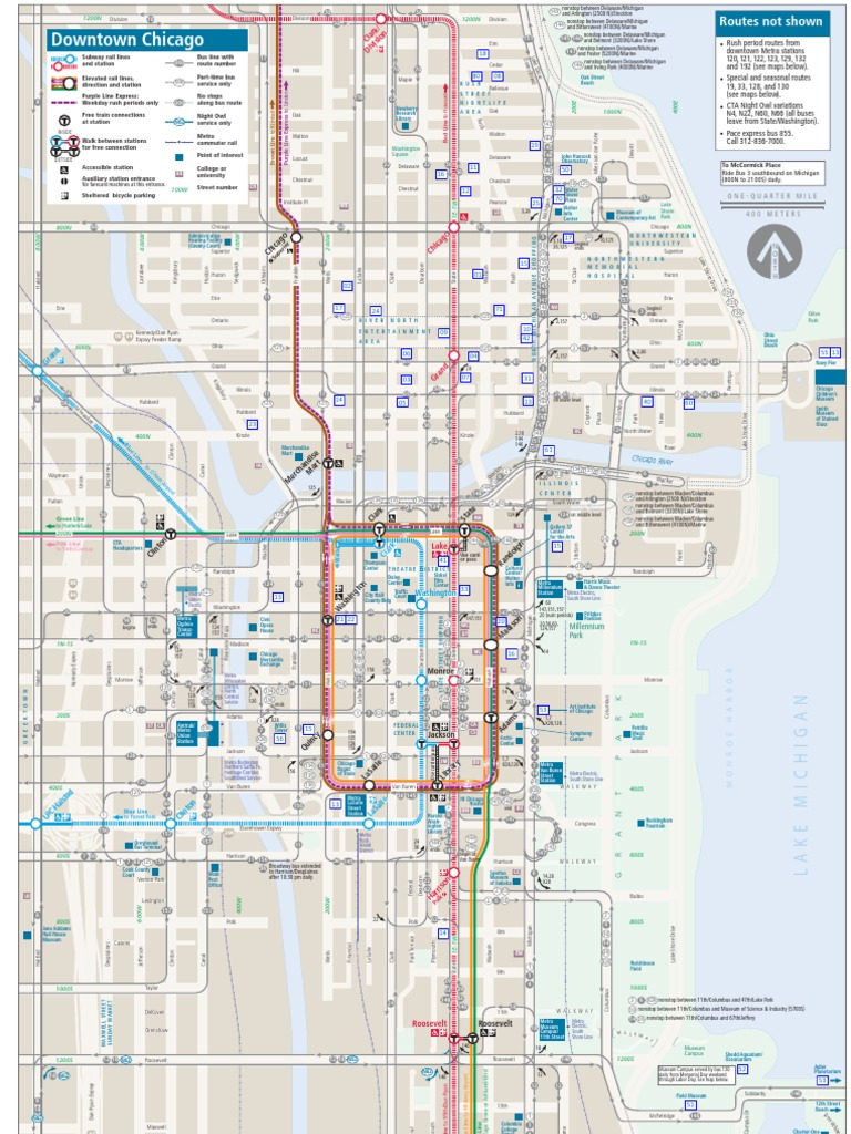 Download Chicago Map DocSharetips - Chicago map download
