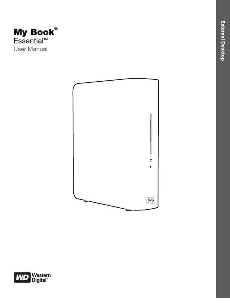 Wd essential manual