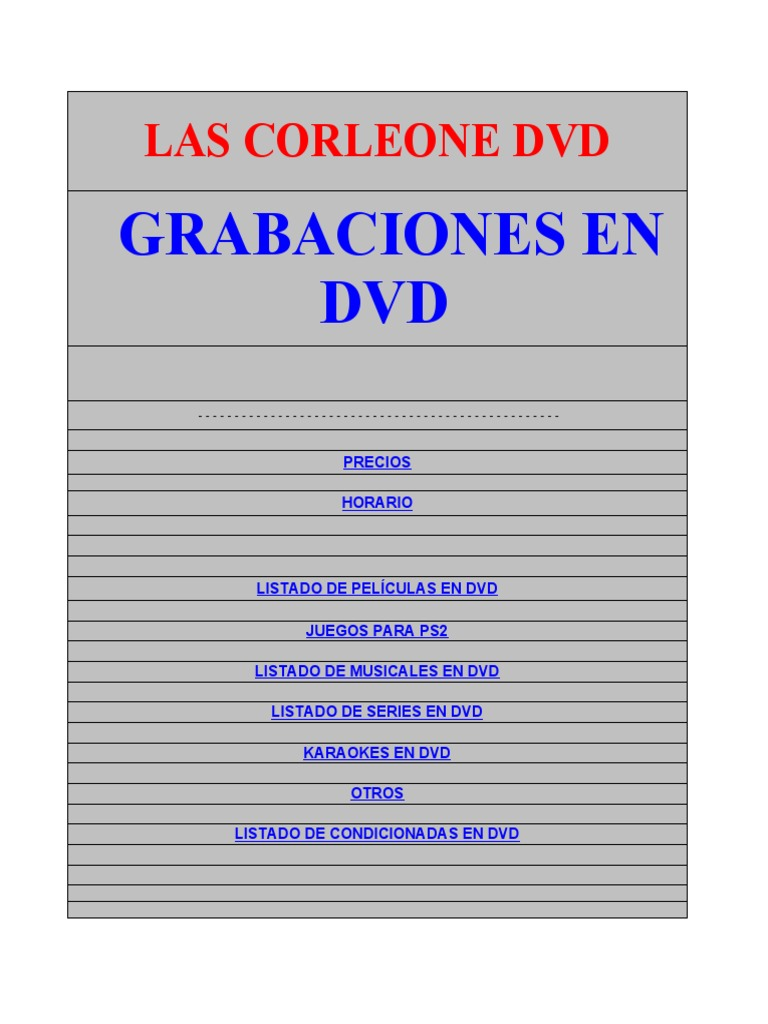 24f17ec5ded Las Corleone Dvd Hotmail - DocShare.tips