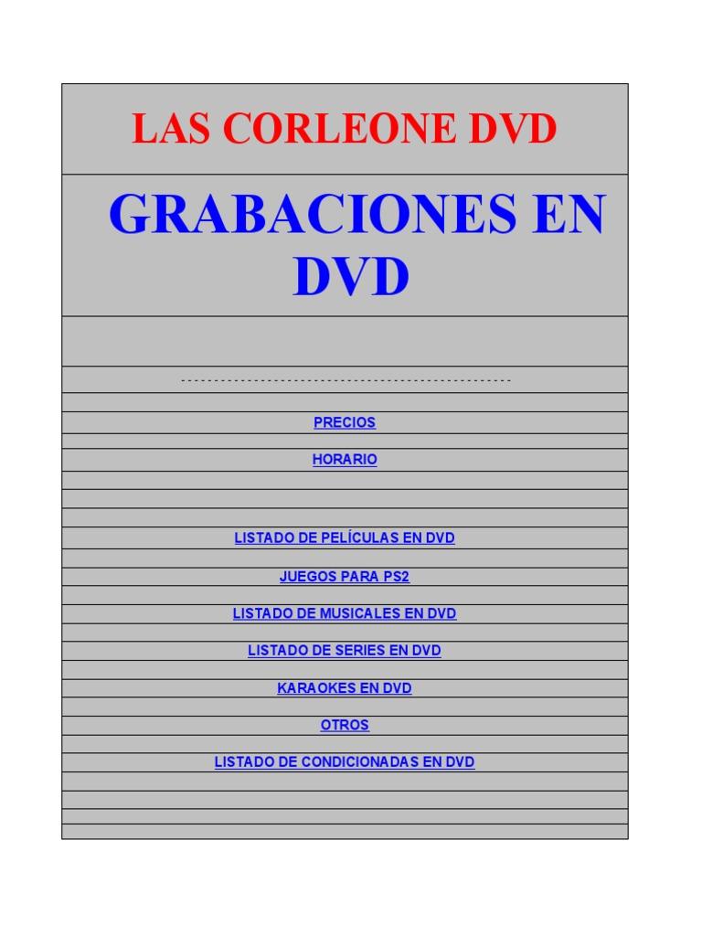 f0fa109371e Las Corleone Dvd Hotmail - DocShare.tips