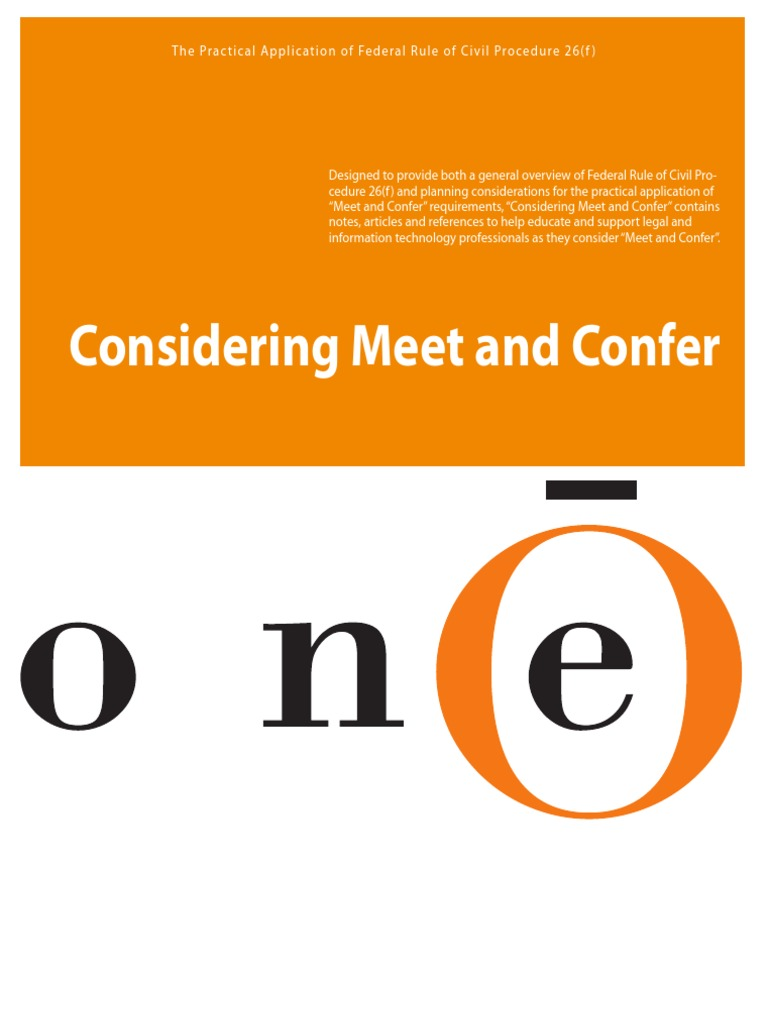 Download Sample Meet and Confer Letter With Specially Prepared ...