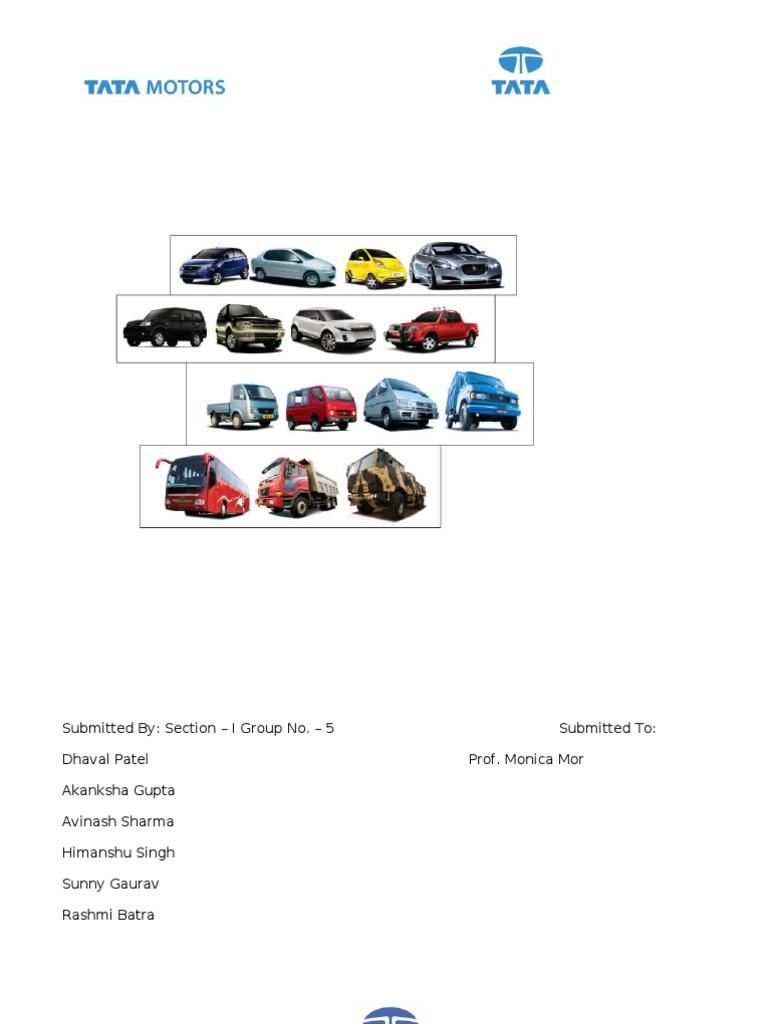 tata motor analysis
