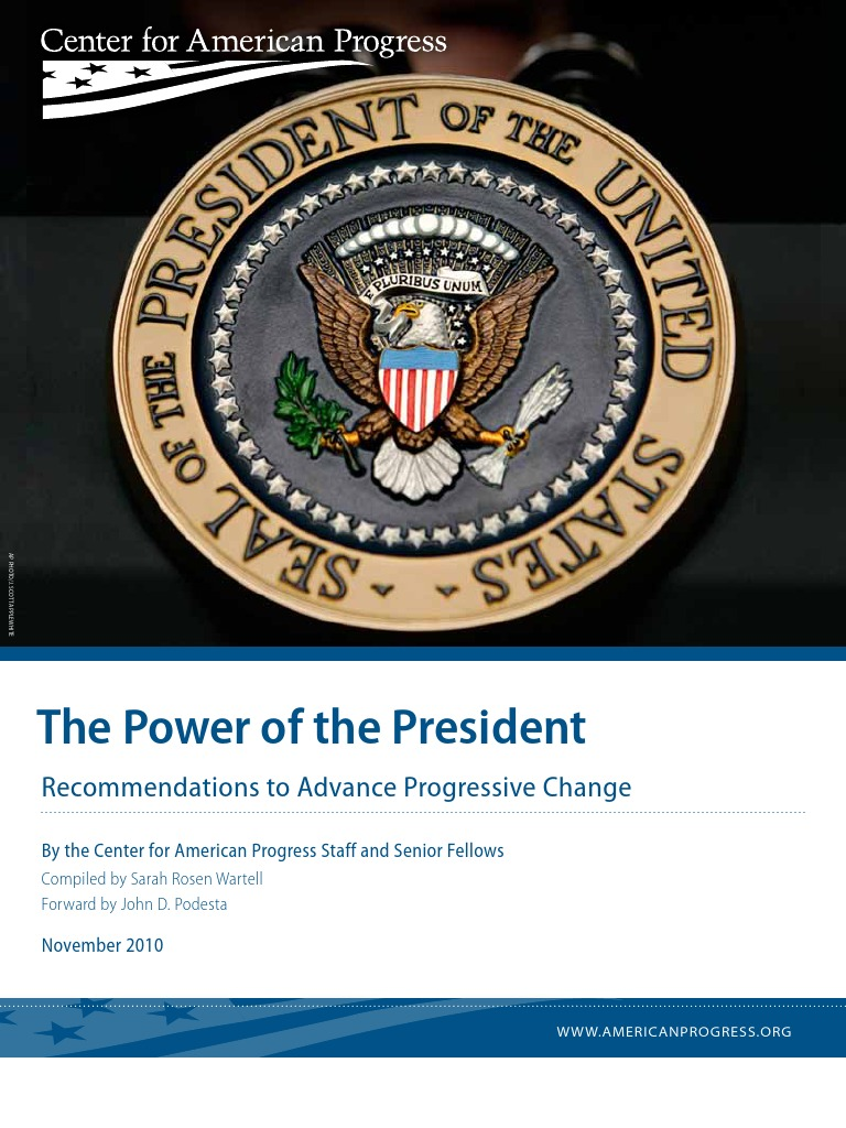 the power of presidency On presidential power by john yoo john yoo explains the enormous power of the presidency and the executive branch that our new president will soon wield—surely no more bashfully than his predecessors—as a function of the size, complexity and power of american society, as well as of american history.