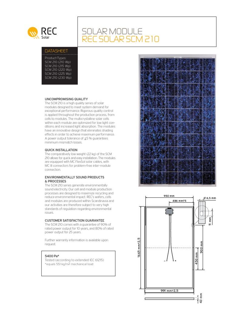 Scm Solar bridge to india the rec mechanism viability of solar