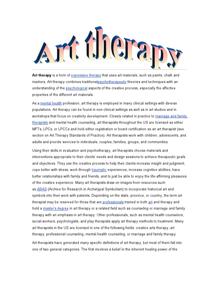 Download Focusing Oriented Art Therapy Docshare
