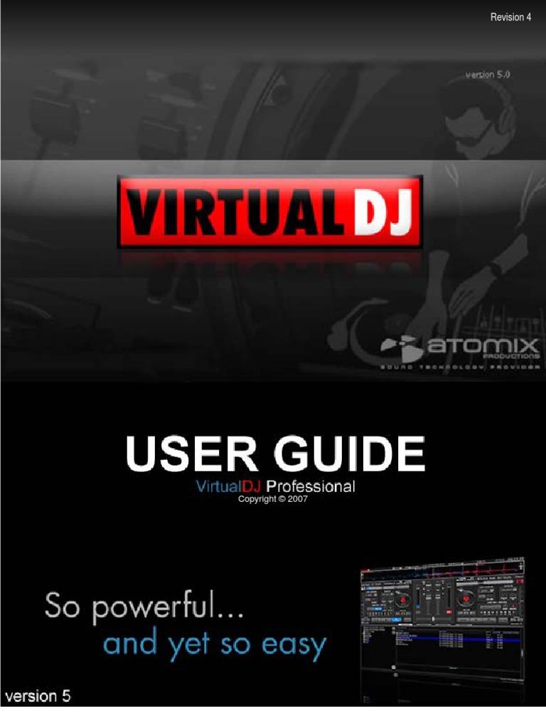Atomix Virtual DJ Manual