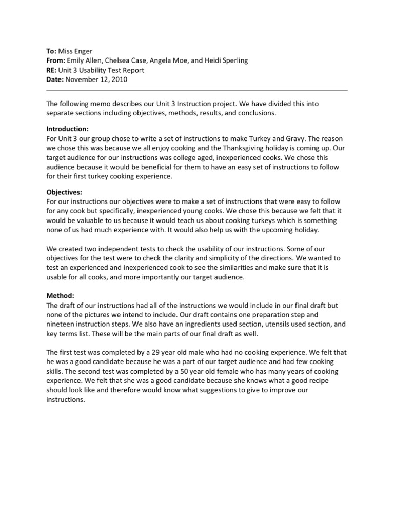 Usability Test Report - DocShare tips