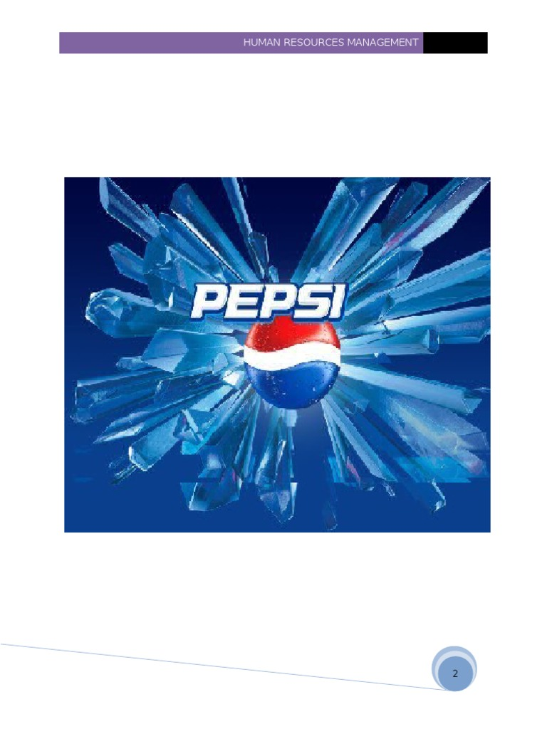 project on pepsico Pepsico organizational behavior project 3444 words | 14 pages a motivation: motivation is defined as the process of internal and external factors that initiates.