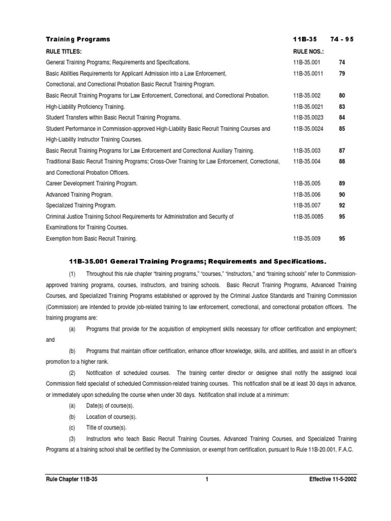 Fdle Training Docshare