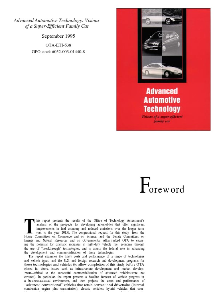 the advancement of technology in automobiles essay Technology essay example what would life be without technology no doubt, the advancements brought us unprecedented physical.
