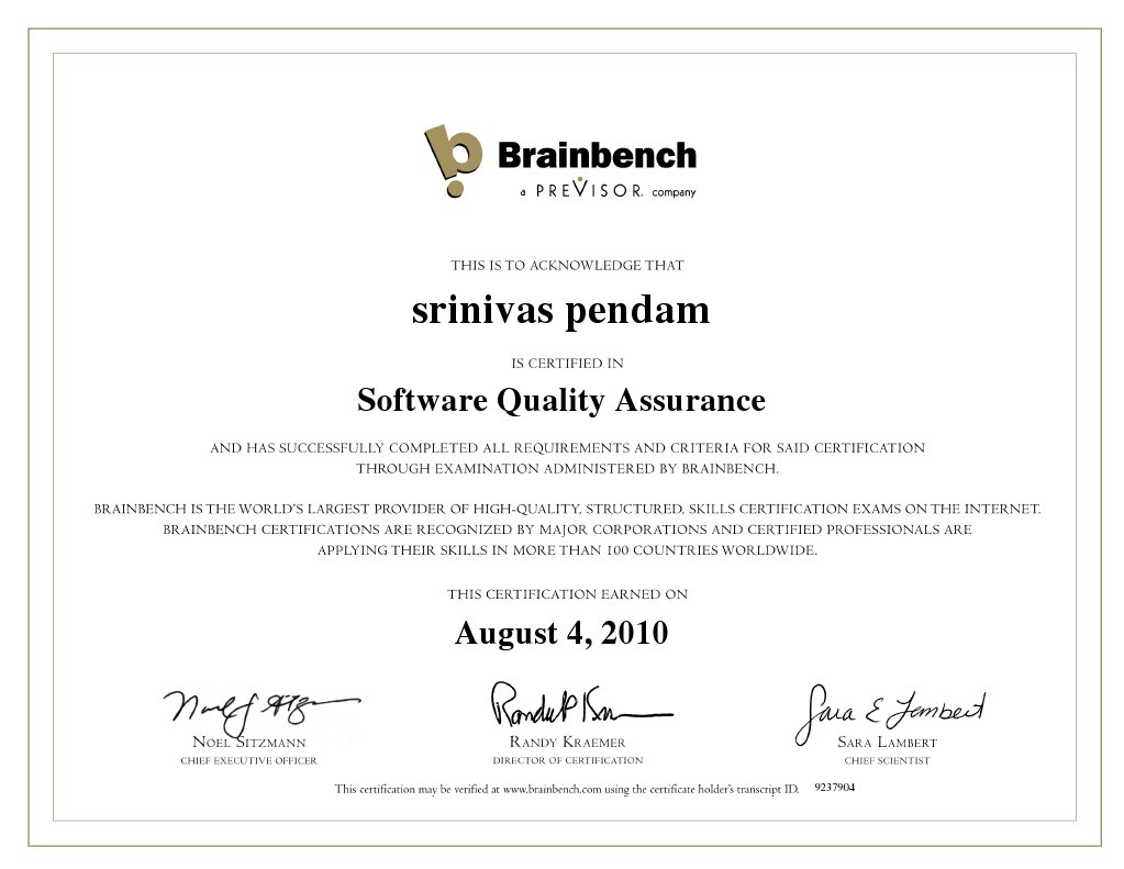 Download Software Quality Assurance Engineer - DocShare.tips