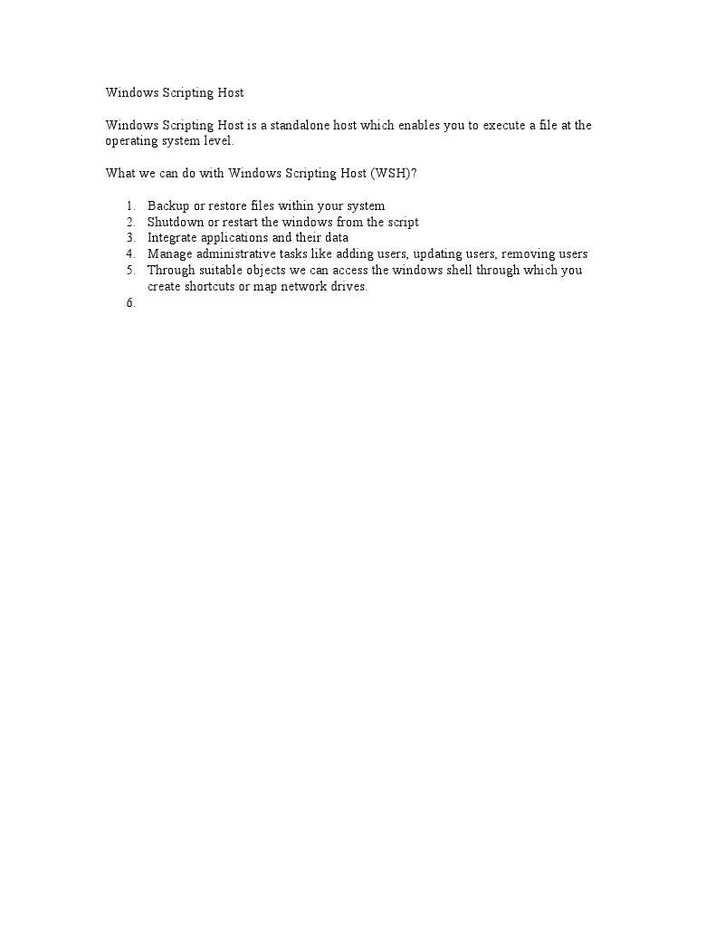 Download Ejercicios Windows Script Host - DocShare tips