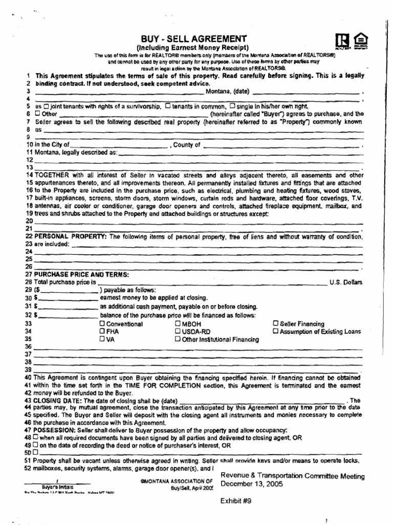 Download Buy Sell Agreement Docshare