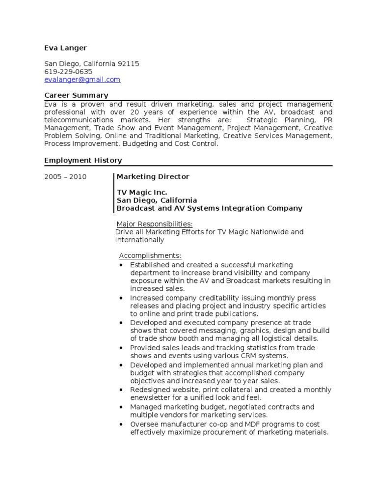 Professional resume help san diego
