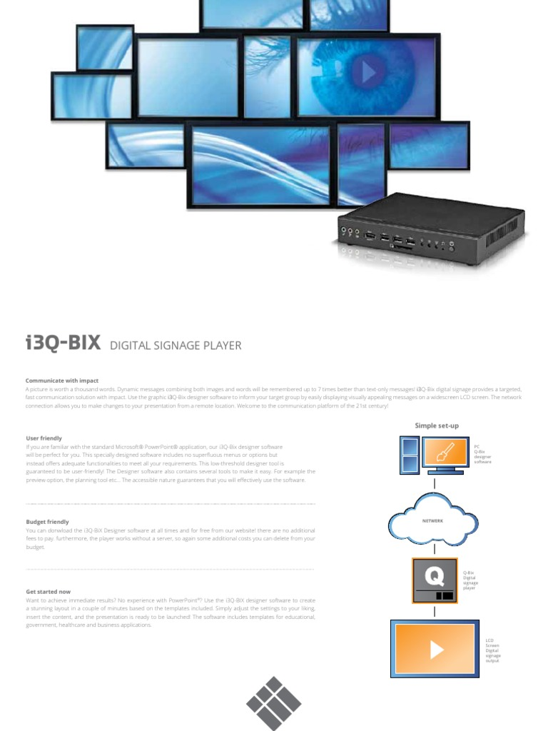 Download Noventri Removes SF-3000 Digital Signage Player From