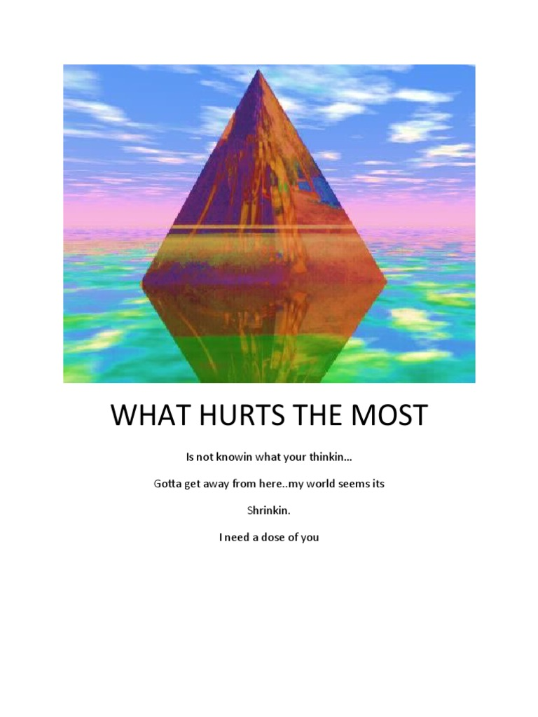 Download What Hurts the Most Chords - DocShare.tips